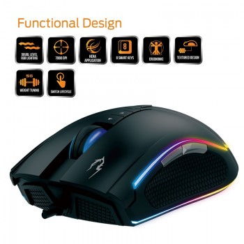 Mouse Gaming Gamdias Zeus...