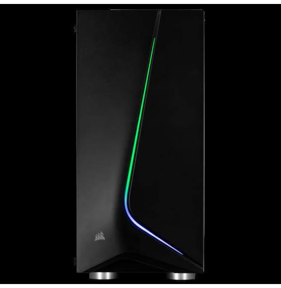 PC Gaming Corsair ZiWi RGB Intel I5 9600KF 16GB - MSI RTX 2060 SUPER - SSD M2 HDD Wi-Fi - Liquid Cooler