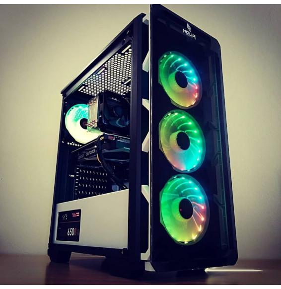 PC Gaming STEALTH S5 Intel I7 8700 4.6 GHz - DDR4 16GB - MSI RTX ARMOR 2070 8GB - SSD HDD