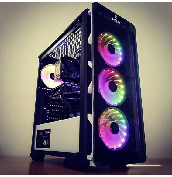 PC Gaming STEALTH S1 Intel I5 9400F 4.1 GHz - DDR4 16GB - RADEON RX 580 8GB - SSD HDD