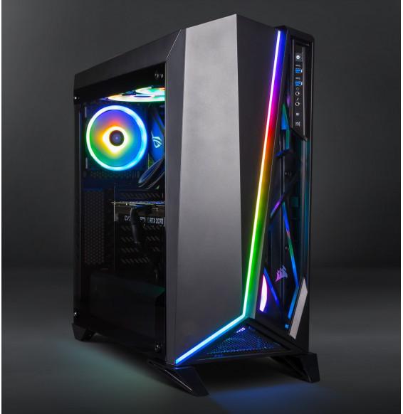 PC Gaming HAL91 AMD Ryzen 3600X 4.4GHz - 16GB 3200MHz - ASUS STRIX RTX 2080 Super 8GB - SSD 1TB HDD 2TB