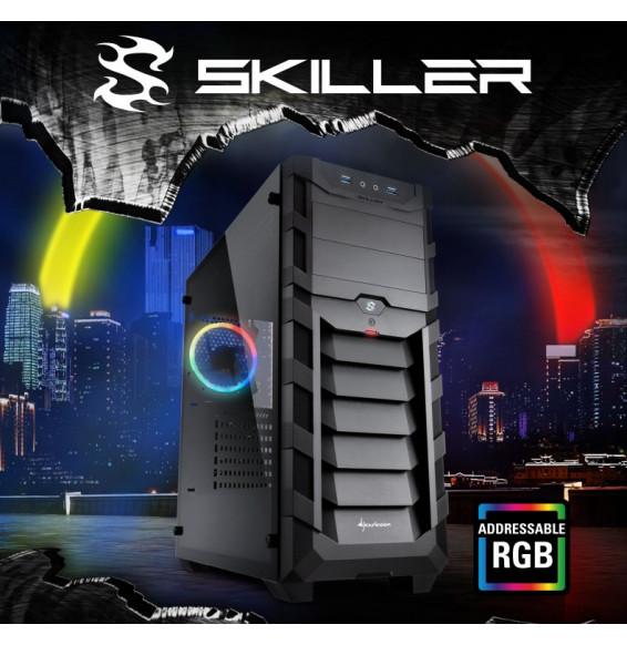 PC Gaming FUBO7 AMD RYZEN 7 3700X - 16GB DDR4 - RADEON RX 6600XT 8GB - SSD M2 500GB - Liquid