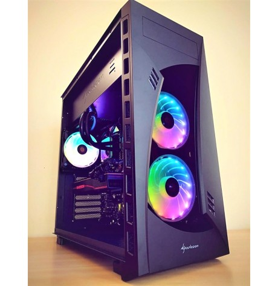 PC Gaming Workstation SNR02 AMD RYZEN 7 3700X 4.4GHz - DDR4 32GB - RADEON RX 5700XT 8GB - SSD M2 512GB HDD 2TB - Liquid