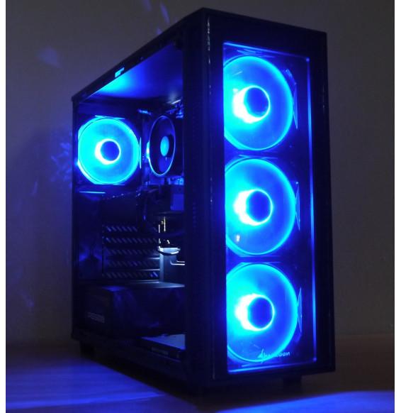 PC Gaming Blue EGG R5 AMD Ryzen 5 2600 - NVIDIA GTX 1660 6GB - DDR4 16GB SSD 500GB