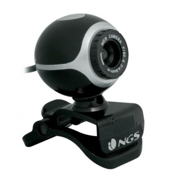 Webcam NGS 300K WEBCAM + Microfono incorporato