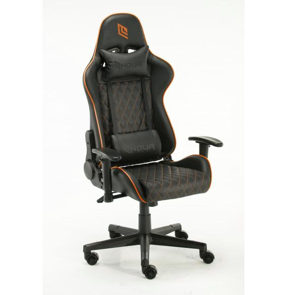 Sedia da Gaming Noua - Black Sedie Gioco Ufficio Girevole Ergonomica Lussuosa - Cuscini Poltrona Schienale Reclinabile