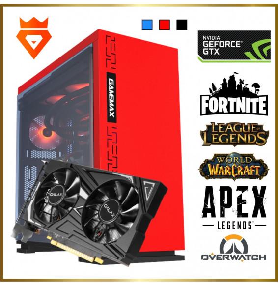 PC Gaming M16 XMax Intel Core i3 9100F 4.2GHz - NVIDIA GeForce GTX 1650 4GB - SSD 500GB DDR4