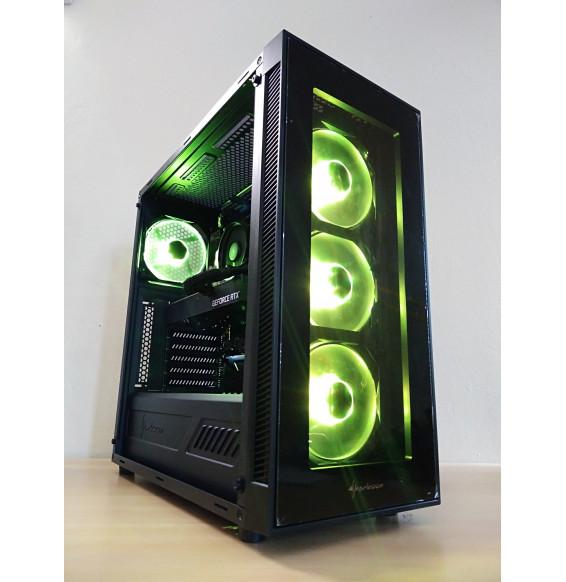 PC Gaming RTH9 AMD Ryzen 5 3600 DDR4 16GB - NVIDIA RTX 2060 6GB - SSD HDD - Liquid