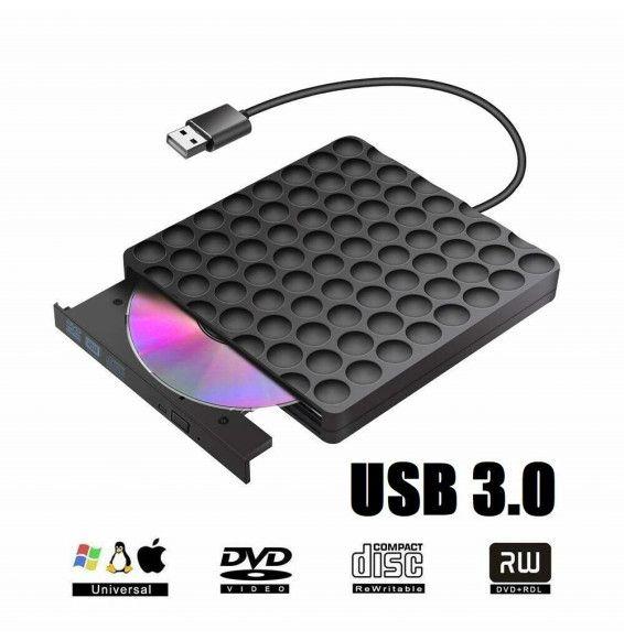 Masterizzatore esterno Lettore DVD Sata bulk Black