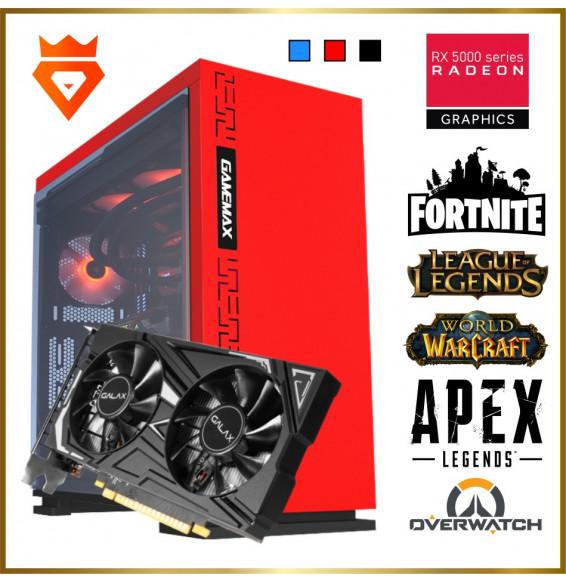 PC Gaming M21 XMax Intel Core i5 9400F 4.1GHz - RADEON RX 5700XT 8GB - SSD 500GB DDR4 16GB