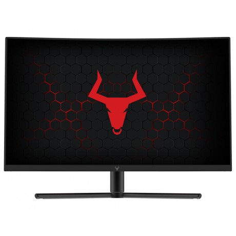"Monitor Gaming TAURUS GGC - 23.6"" CURVED R1200 1920x1080 144Hz 16:9 3ms OD 2xHDMI DP Audio"