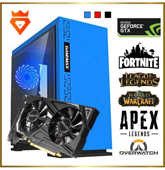 PC Gaming M14 S1 XMax Ryzen 5 2600 - NVIDIA GeForce GTX 1650 Super 4GB - 16GB DDR4 - SSD 250GB