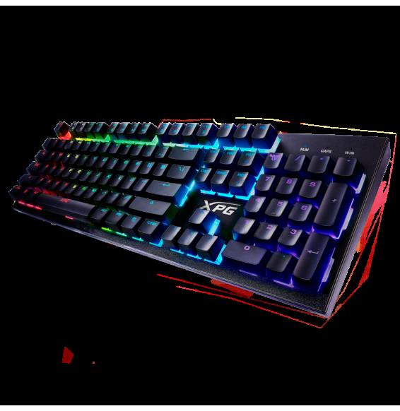 Tastiera PC Gaming ADATA XPG INFAREX K10 9 EFF.LUCE - ANTI-GHOSTING IBRIDA MECCANICA - PS4  - Multicolor