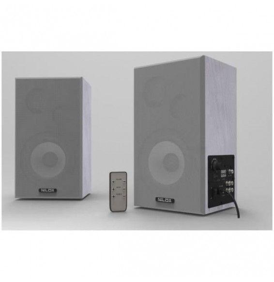 AUDIO SPEAKERS - Casse Preamplificate 100W PC - Hi-Fi