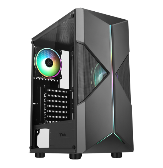 PC Gaming Argus B1 Intel Core i3 10100F 4.3GHz - Radeon RX 550 2GB - SSD 480GB - DDR4
