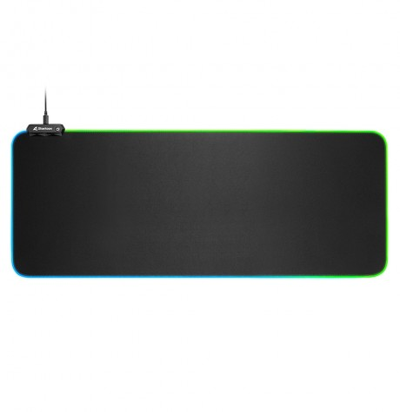Tappetino Mouse Pad Sharkoon 1337 GAMING MAT RGB V2 900x425 3mm
