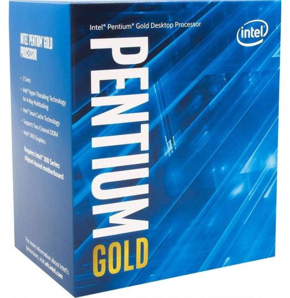 Processore CPU Intel Box Pentium Gold Dual-Core Processor G6400 4,0 Ghz 4M Comet Lake