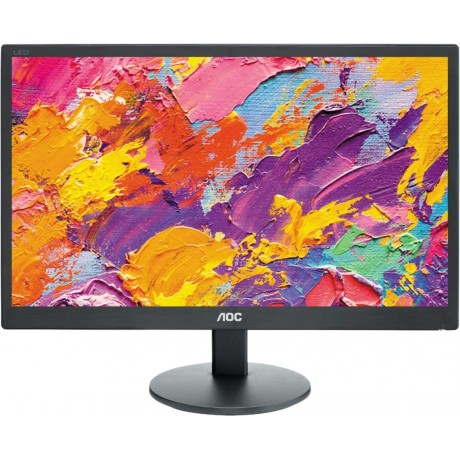 "Monitor AOC E970SWN LCD Monitor da 18.5"" LED 16:9 1366X768 VESA HD BLACK"