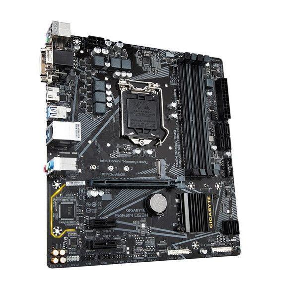Scheda Madre Gigabyte B460M DS3H LGA 1200 - Micro-ATX Motherboard