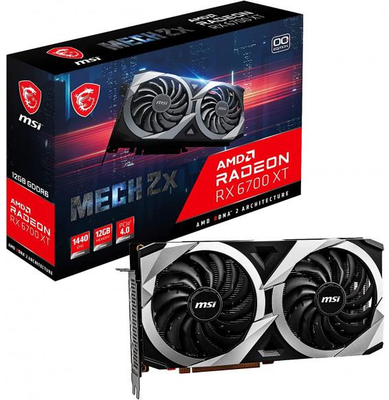 Scheda Video MSI Radeon RX 6700 XT MECH 12G OC GDDR6 - 3x DisplayPort 1x HDMI