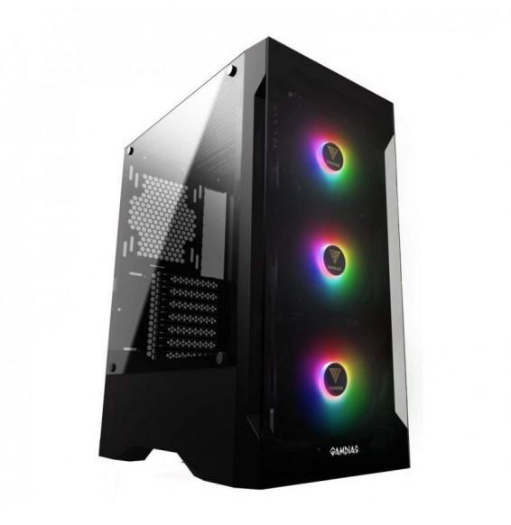 PC GAMING M66 XMax Ryzen 5 3600 4.2GHz - Radeon RX 6600XT 8GB - SSD 500GB DDR4 16GB - Liquid Wi Fi