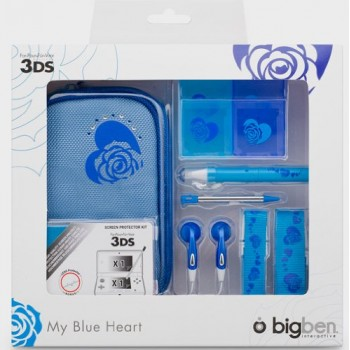 Accessori Pack Blue 3DS -...
